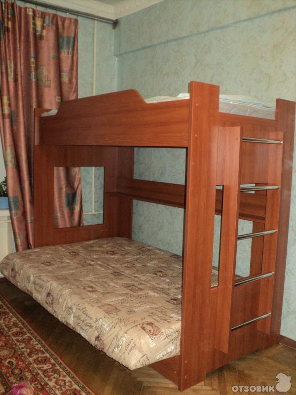онлайн мебель двухъярусная кровать диван