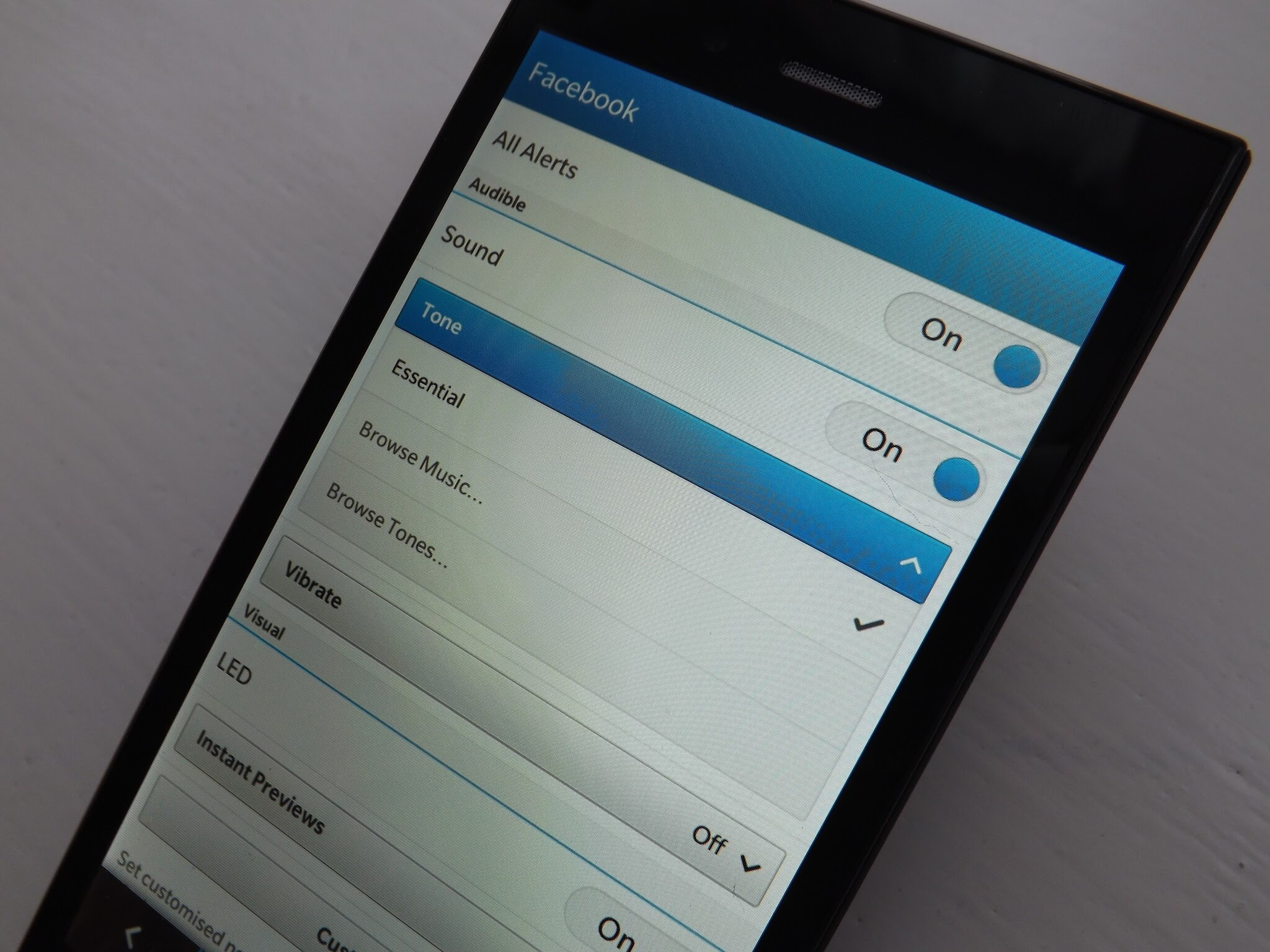 How To Change The Notification Tones On The Blackberry Z3 Crackberry Com