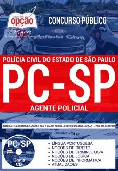 Concurso PC SP 2018-AGENTE POLICIAL