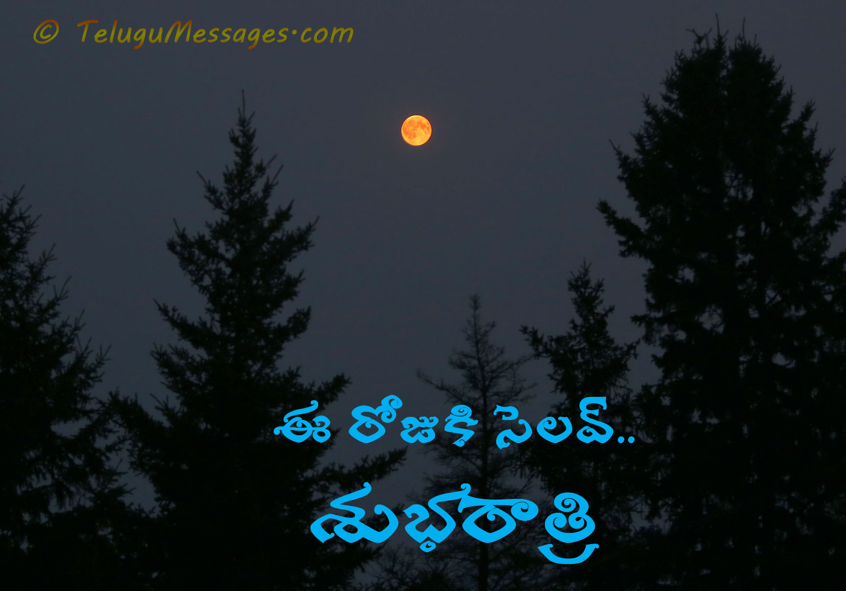 Good Night Telugu Greeting Bye For The Day Good Morning Quotes
