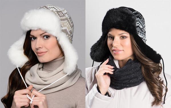 Зимние шапки-ушанки 2015