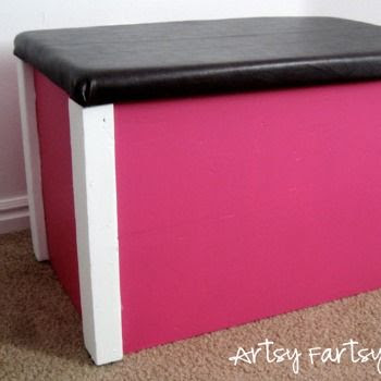Toy Box Makeover