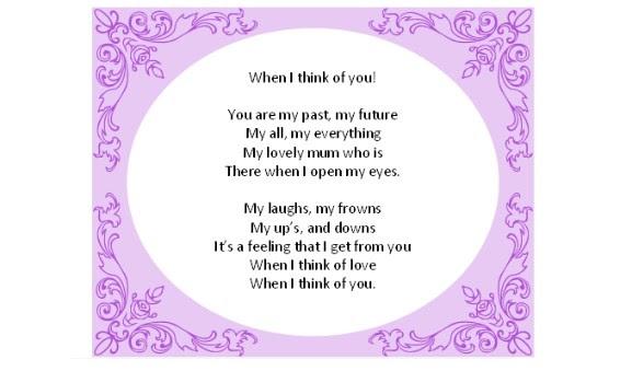 Tashas Poems