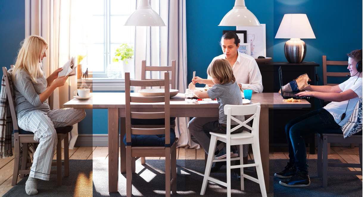 IKEA Dining Area Design Ideas 2013 | DigsDigs