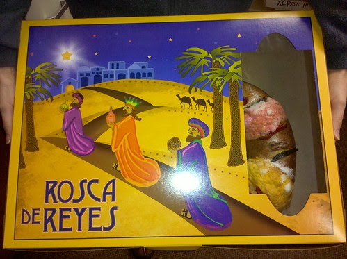 Rosca de Reyes (Three Kings Cake)