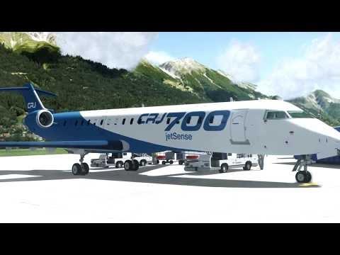 South West Flight Simulation: Upgraded CRJ700: Freeware by