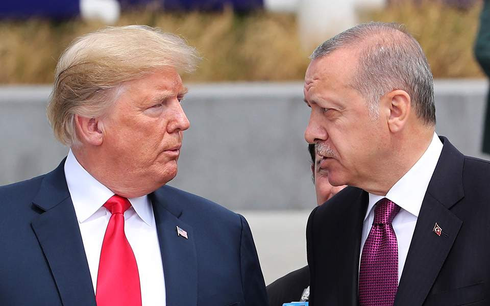 Αποτέλεσμα εικόνας για τραμπ ερντογαν