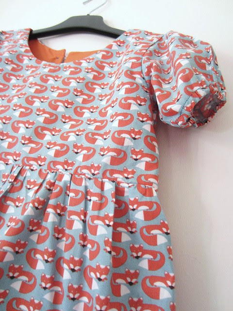 fox party frock sleeve