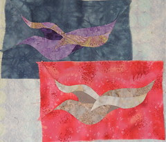 Same Bird Pattern - different processes