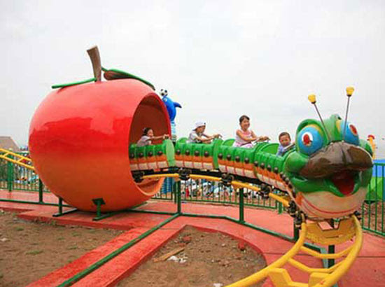Fruit Worm Roller Coaster Rides for Sale