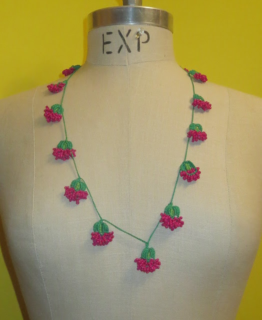 as long necklace