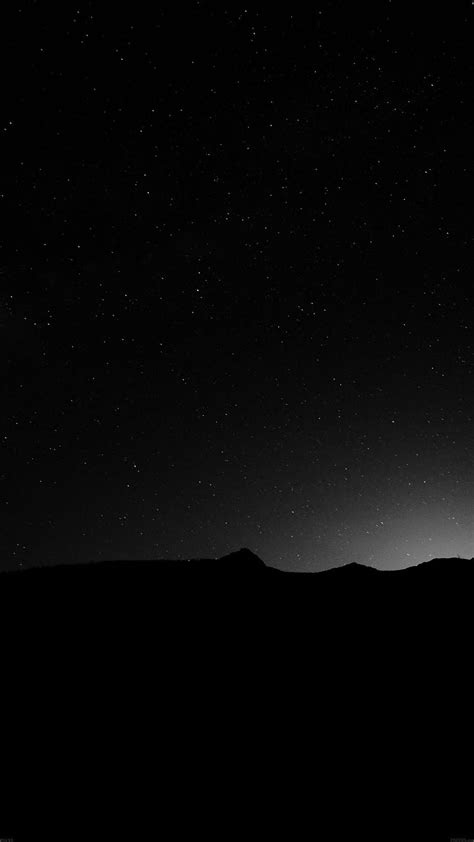 night sky silent wide mountain star shining nature iphone  wallpaper moon stars space