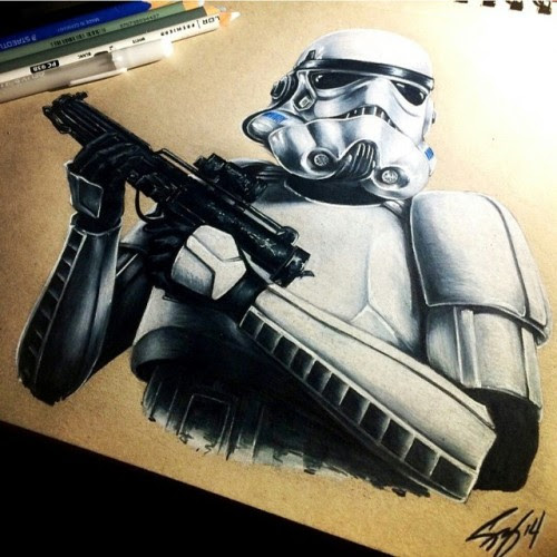 Storm Trooper by @liveevil19