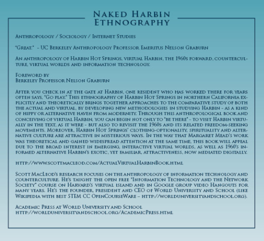 Naked Harbin Ethnography Back Cover Blurb Anthro Soc Internet Studies