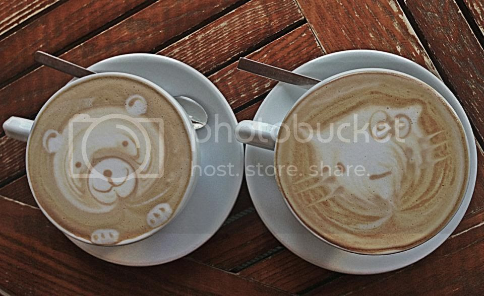 Some of the cutest coffees I've ever seen. photo 550134_580513974339_1711588133_n_zps7dba1e92.jpg