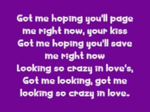 Crazy In Love Beyonce Knowles Feat Jay Z Lyrics