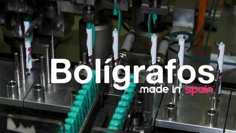 Fabricando. Made in Spain - Cómo se fabrican los boligrafos