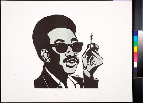 H. Rap Brown (Man with Match)