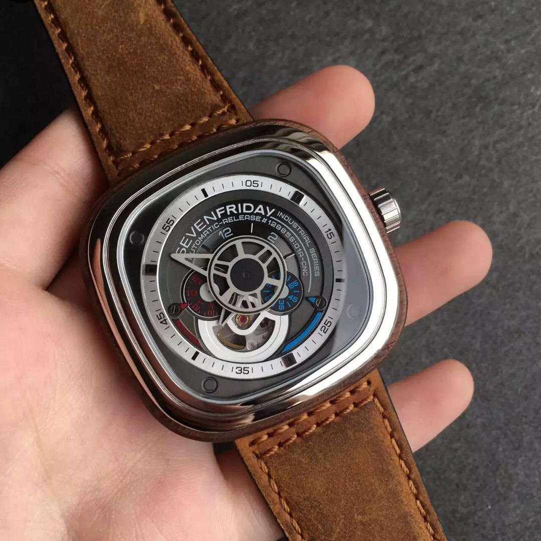 Replica SevenFriday P3-2 Watch with Leather Strap