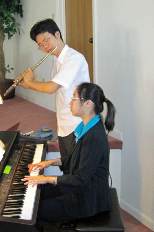 Philip Kim and Katherine Lin