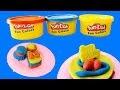 Mainan Anak FUN DOH Membuat Kue Ulang Tahun dan Mini Cake - Creating cake birthday toy - Play doh