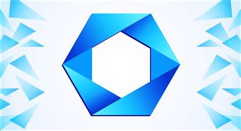 polygon logo design  corel draw youtube