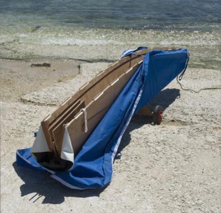 Paper8 Barca Pieghevole.La Barca Pieghevole Paper8 Tulipanorosa