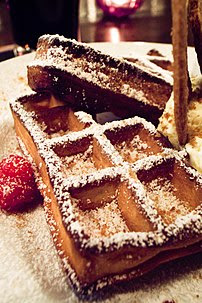 The local waffle type in Brussels