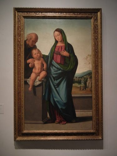 DSCN7972 _ Holy Family, c. 1497, Fra Bartolommeo (Baccio della Porta) (1472-1517), LACMA