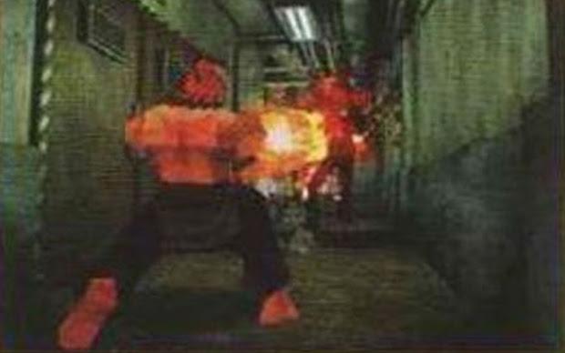 Montagem com Akuma em Resident Evil 2 (Foto: Reprodução)
