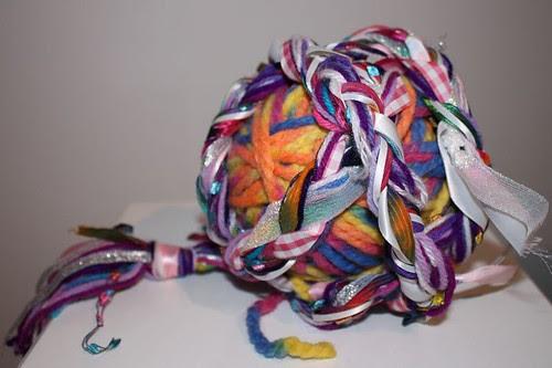 December Magic Yarn Ball, received