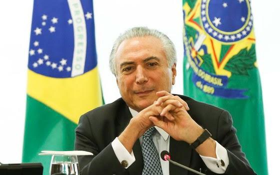 O presidente interino Michel Temer (Foto: Fabio Rodrigues Pozzebom/Agência Brasil)