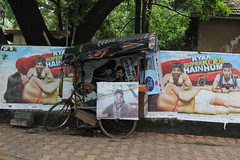 the bollywood posterman of juhu by firoze shakir photographerno1