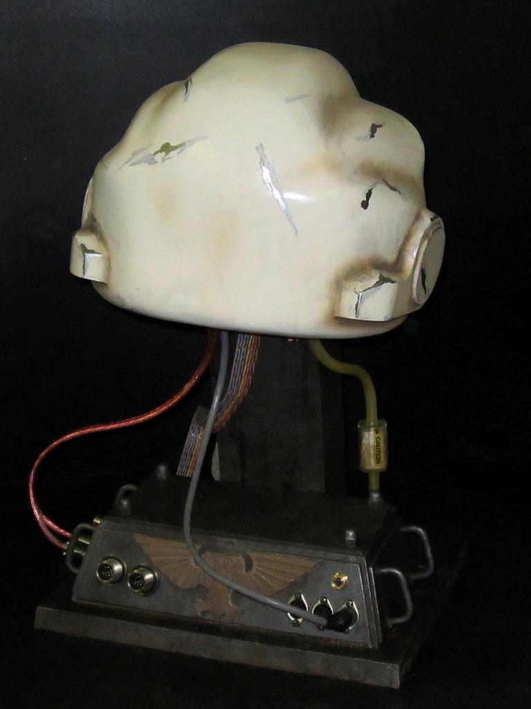 Terminator Helmet Finished back
