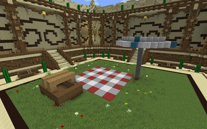 Build Battle #4 Picnic Minecraft Project