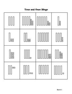 place value worksheets for first grade | Place Value Using Blocks ...