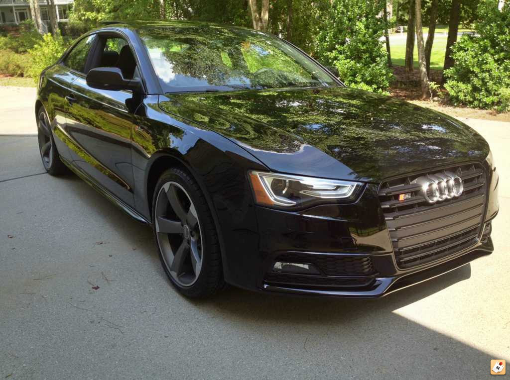 2015 Audi S5 Black Optic Package