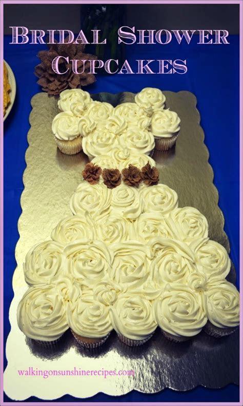 Recipe: Bridal Shower Cupcakes   Walking on Sunshine