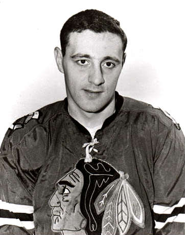 Phil Esposito Black Hawks