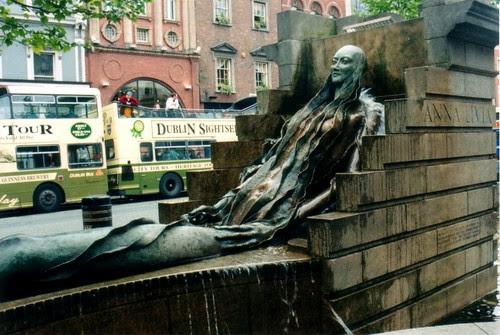 Anna Livia fountain