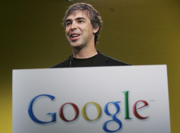 Larry Page tem 39 anos e fundou o Google em 1998 com Sergey Brin (Foto: Paul Sakuma/AP)