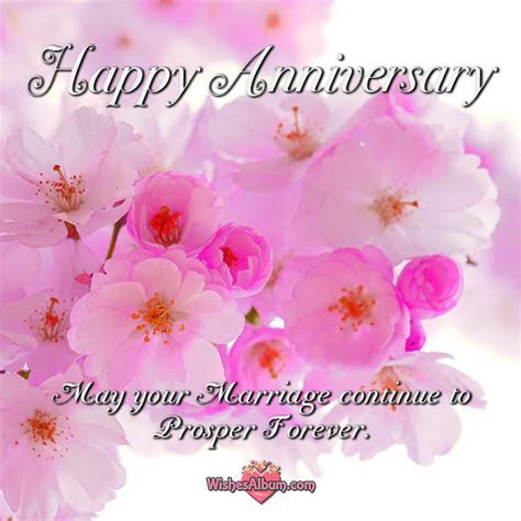 Wedding Anniversary Wishes For Friends ~ WishesAlbum.com