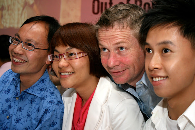 Walter, Belinda, Ian and Jayden