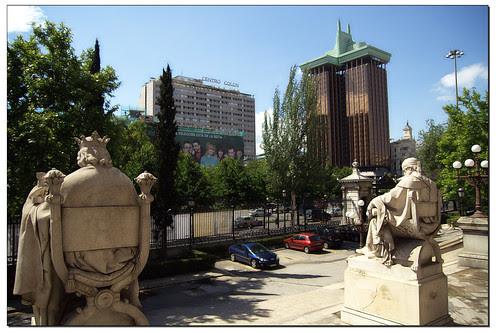 madrid, paisaje urbano