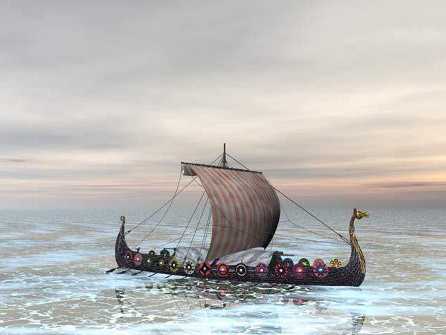 драккар техническое чудо викингов