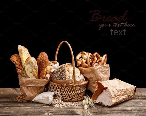 Bread still life ~ Food & Drink Photos ~ Creative Market