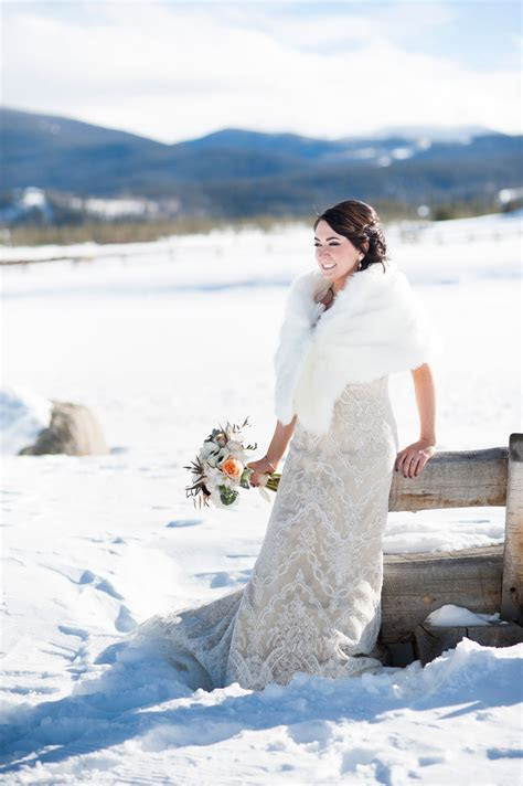 A Whimsical Winter Wedding in the Colorado Rockies   Luxe