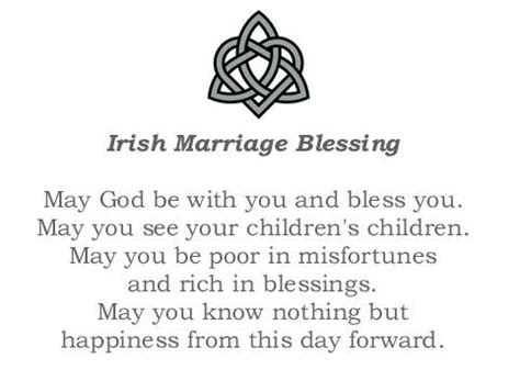 irish marriage blessing read      wedding