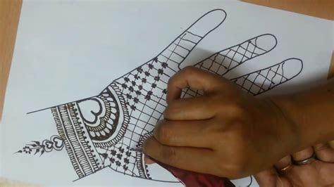 quick mehndi design simple mehndi design hands