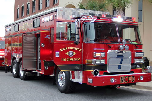 North Charleston Fire Department's new Heavy Rescue by North Charleston